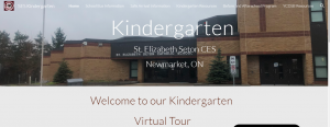 Our New Welcome to Kindergarten Website and Procedures