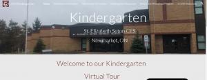 Our New Welcome to Kindergarten Website and Procedures