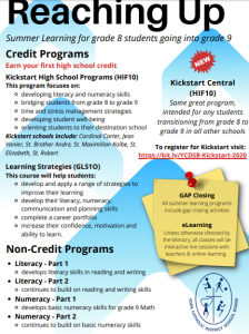 YCDSB Summer Learning